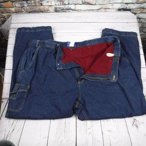 Habands Artic Bear insulated blue jeans 48